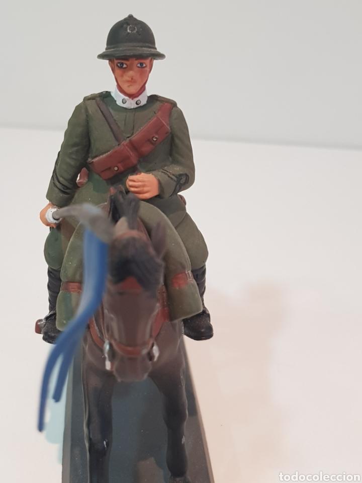 Juguetes Antiguos: Dead soldado a caballo lancero de Novara Italia 1917 by Cassandra medidas 13 x 10 cm de plomo - Foto 4 - 117763850
