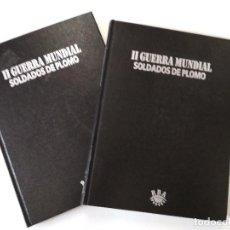 Juguetes Antiguos: II GUERRA MUNDIAL. SOLDADOS DE PLOMO. 2 TOMOS. Lote 118777143