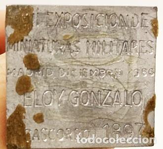 Juguetes Antiguos: SOLDADO DE PLOMO - 54 MM - FIGURA CONMEMORATIVA - SOLDADITO FIGURA MINIATURA 54MM MINIATURAS - Foto 5 - 118784947