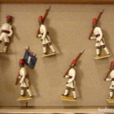 Juguetes Antiguos: SOLDADOS DE PLOMO 5 CM. Lote 124351446