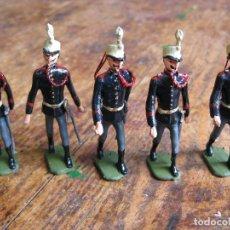 Juguetes Antiguos: LOTE DE 5 CADETES DE GALA - CAPELL, CASANELLAS, PALOMEQUE. Lote 120286883