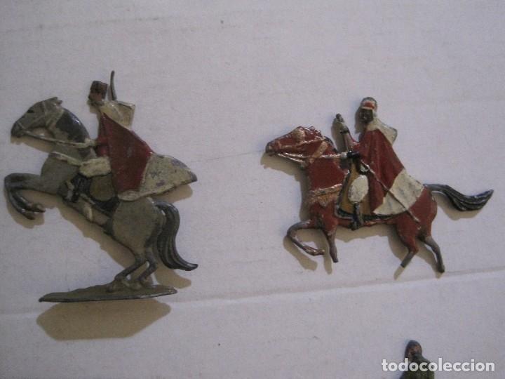 Juguetes Antiguos: GUARDIA MORA FRANCO CON COCHE - SOLDADOS PLOMO PLANOS -VER FOTOS-(V-14.435) - Foto 5 - 120536867