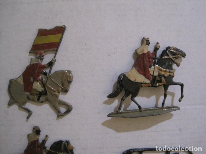 Juguetes Antiguos: GUARDIA MORA FRANCO CON COCHE - SOLDADOS PLOMO PLANOS -VER FOTOS-(V-14.435) - Foto 12 - 120536867