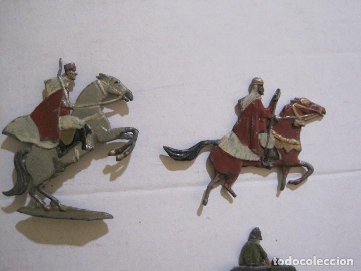 Juguetes Antiguos: GUARDIA MORA FRANCO CON COCHE - SOLDADOS PLOMO PLANOS -VER FOTOS-(V-14.435) - Foto 13 - 120536867