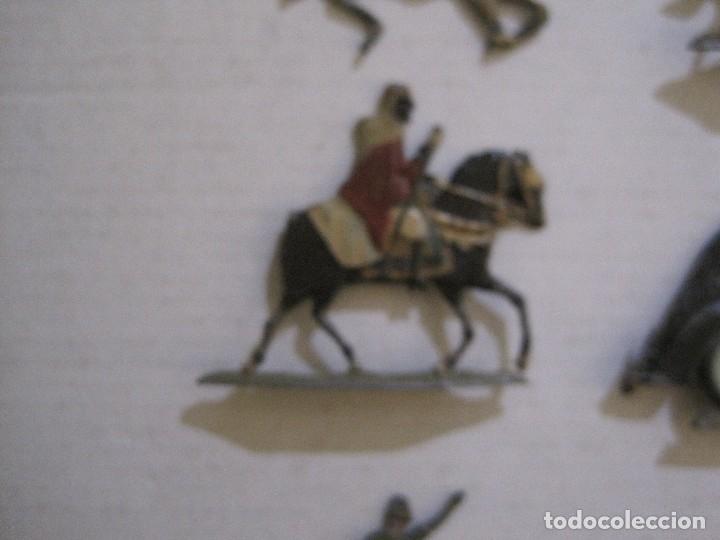 Juguetes Antiguos: GUARDIA MORA FRANCO CON COCHE - SOLDADOS PLOMO PLANOS -VER FOTOS-(V-14.435) - Foto 14 - 120536867