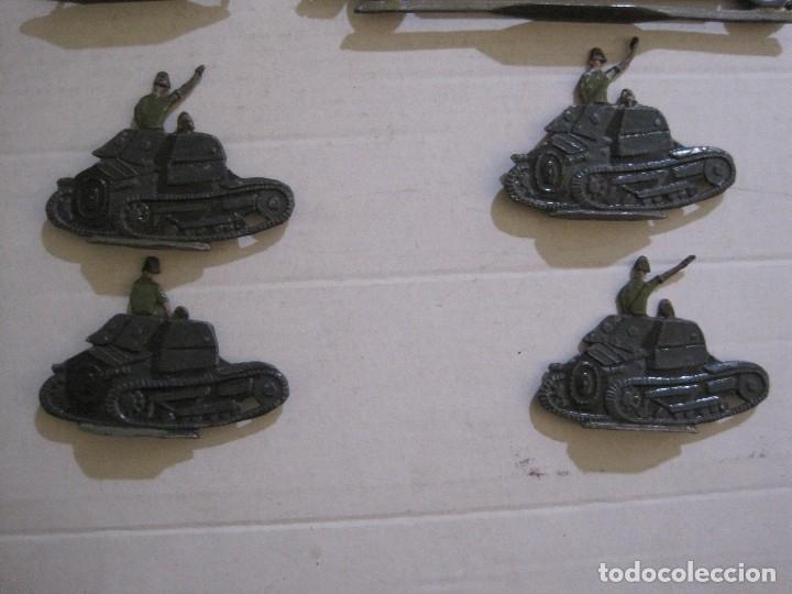 Juguetes Antiguos: GUARDIA MORA FRANCO CON COCHE - SOLDADOS PLOMO PLANOS -VER FOTOS-(V-14.435) - Foto 17 - 120536867