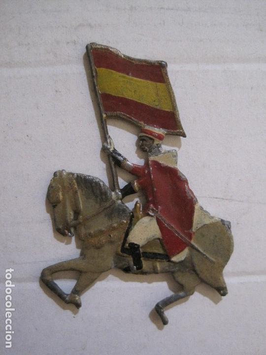 Juguetes Antiguos: GUARDIA MORA FRANCO CON COCHE - SOLDADOS PLOMO PLANOS -VER FOTOS-(V-14.435) - Foto 19 - 120536867