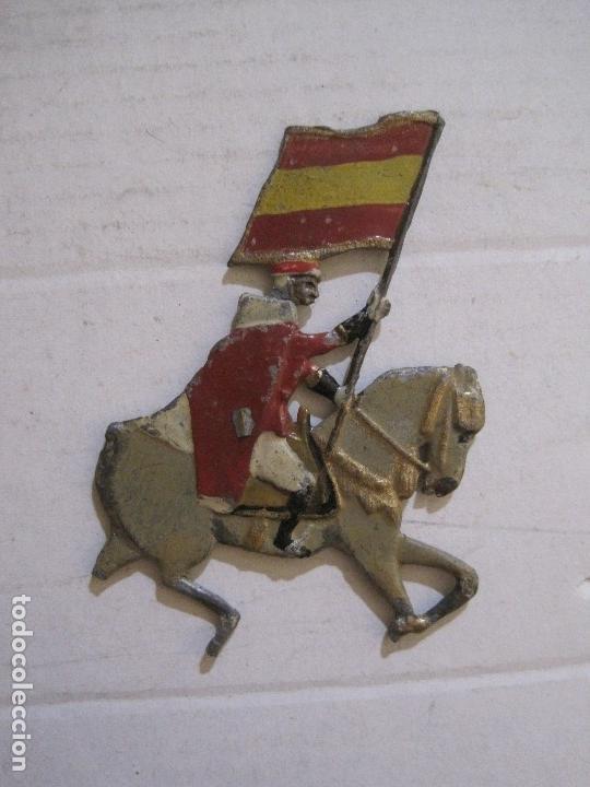Juguetes Antiguos: GUARDIA MORA FRANCO CON COCHE - SOLDADOS PLOMO PLANOS -VER FOTOS-(V-14.435) - Foto 20 - 120536867