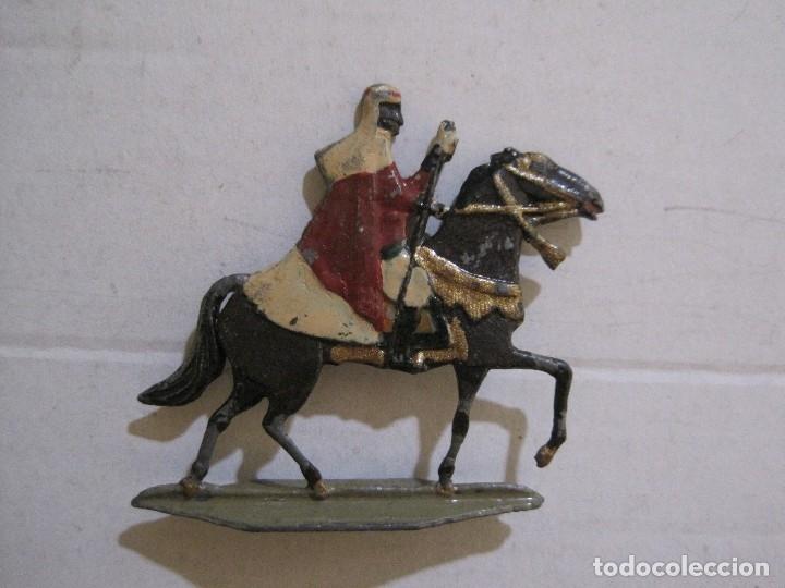Juguetes Antiguos: GUARDIA MORA FRANCO CON COCHE - SOLDADOS PLOMO PLANOS -VER FOTOS-(V-14.435) - Foto 21 - 120536867