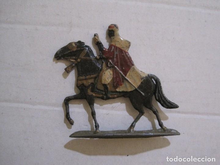 Juguetes Antiguos: GUARDIA MORA FRANCO CON COCHE - SOLDADOS PLOMO PLANOS -VER FOTOS-(V-14.435) - Foto 22 - 120536867