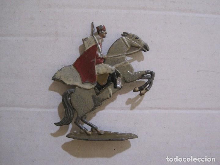 Juguetes Antiguos: GUARDIA MORA FRANCO CON COCHE - SOLDADOS PLOMO PLANOS -VER FOTOS-(V-14.435) - Foto 23 - 120536867