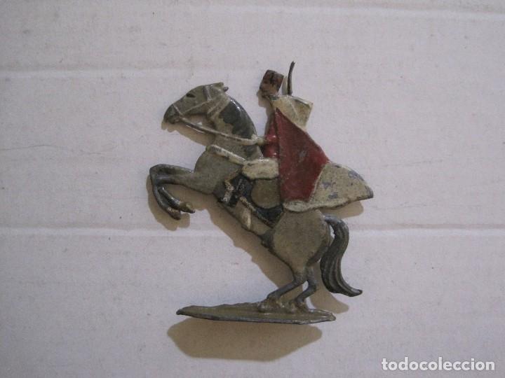 Juguetes Antiguos: GUARDIA MORA FRANCO CON COCHE - SOLDADOS PLOMO PLANOS -VER FOTOS-(V-14.435) - Foto 24 - 120536867