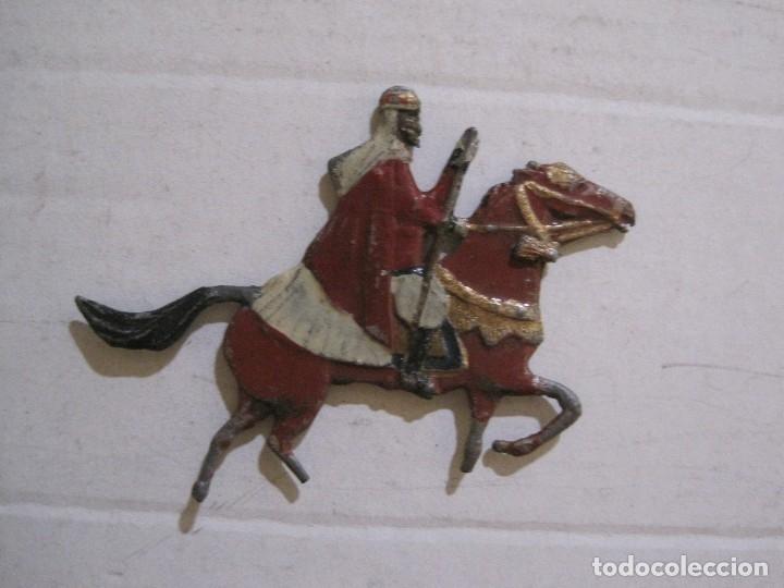 Juguetes Antiguos: GUARDIA MORA FRANCO CON COCHE - SOLDADOS PLOMO PLANOS -VER FOTOS-(V-14.435) - Foto 25 - 120536867