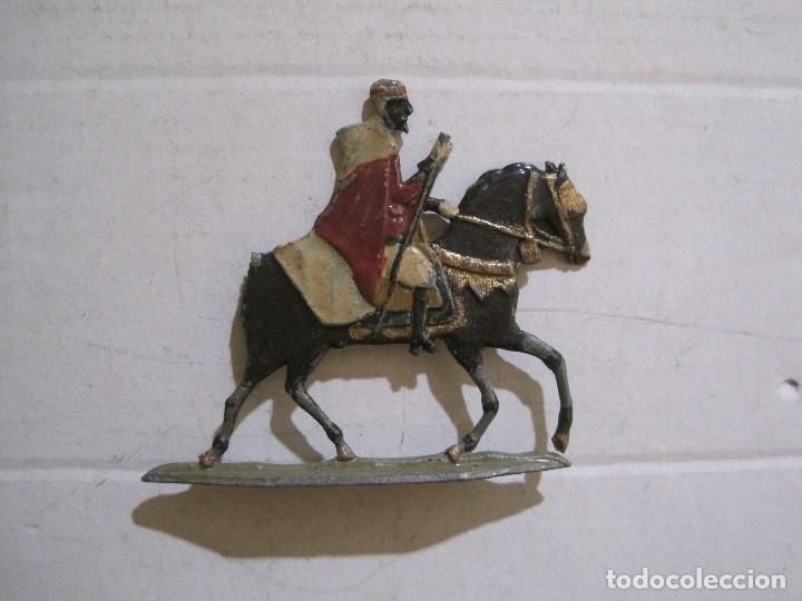 Juguetes Antiguos: GUARDIA MORA FRANCO CON COCHE - SOLDADOS PLOMO PLANOS -VER FOTOS-(V-14.435) - Foto 27 - 120536867