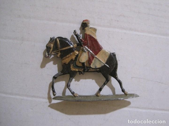 Juguetes Antiguos: GUARDIA MORA FRANCO CON COCHE - SOLDADOS PLOMO PLANOS -VER FOTOS-(V-14.435) - Foto 28 - 120536867