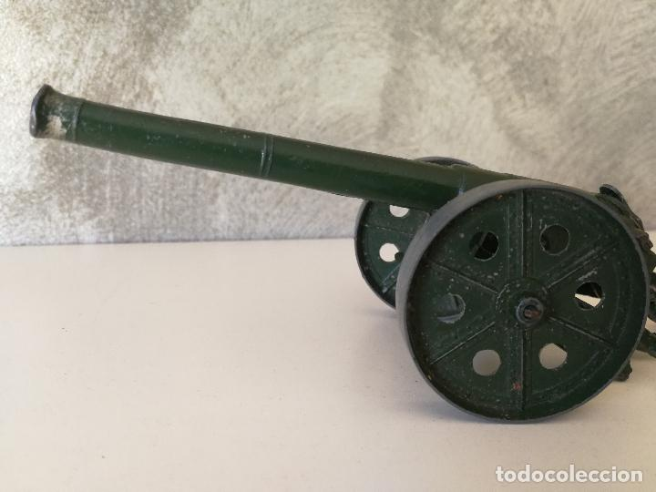 Juguetes Antiguos: ANTIGUO CAÑÓN METALICO DE JUGUETE BRITAINS - Foto 3 - 120626799