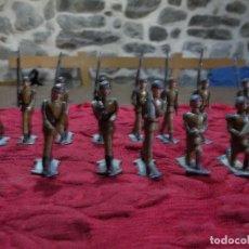 Juguetes Antiguos: SOLDADITOS DE PLOMO ANTIGUOS. Lote 122040351