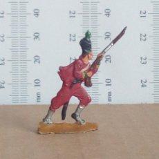 Juguetes Antiguos: SOLDADO DE PLOMO TIPO HUSAR PLANO. Lote 122139647