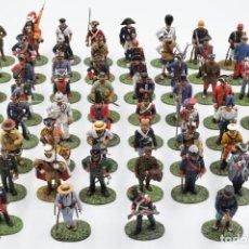 Juguetes Antiguos: COLECCION COMPLETA DE LOS 60 SOLDADOS DE PLOMO DE LA HISTORIA DE ESPAÑA, ALTAYA 2003 . Lote 122494695