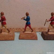 Juguetes Antiguos: SOLDADOS DE PLOMO 50 MM. MUSICOS. Lote 128742120