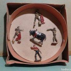 Juguetes Antiguos: SOLDADOS DE PLOMO. TEIXIDO. TOREROS. PLAZA DE TOROS. Lote 128742583
