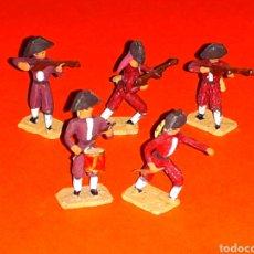 Juguetes Antiguos: *ESPAÑOLES* GUERRA INDEPENDENCIA, PLOMO ESC. H0 1/86, ALYMER MINIPLOMS, MADE IN SPAIN, AÑOS 60.. Lote 129414634