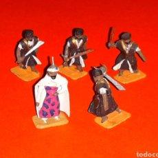 Juguetes Antiguos: GUERREROS TURCOS OTOMANOS, PLOMO ESC. H0 1/86, ALYMER MINIPLOMS, MADE IN SPAIN, AÑOS 60.. Lote 129415951