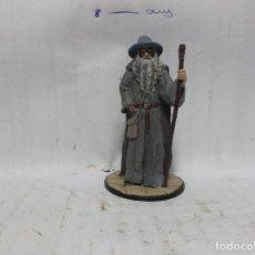 Juguetes Antiguos: (1) GANDALF EL GRIS - 2004.- FIGURA DE PLOMO.. Lote 130508954