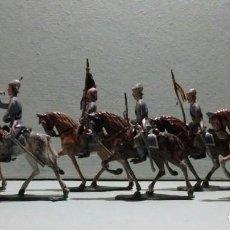 Juguetes Antiguos: SOLDADOS DE PLOMO CASANELLAS LANCEROS 45 MM. Lote 131025128