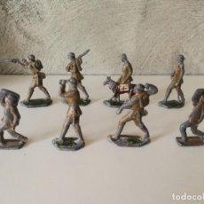 Juguetes Antiguos: LOTE ANTIGUOS SOLDADOS DE PLOMO ESPAÑOLES CAPELL EULOGIO CASANELLAS. Lote 131067528