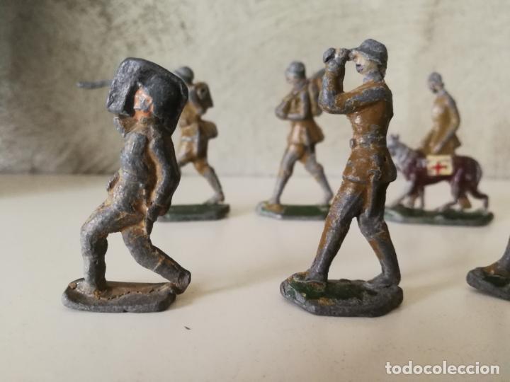 Juguetes Antiguos: LOTE ANTIGUOS SOLDADOS DE PLOMO ESPAÑOLES CAPELL EULOGIO CASANELLAS - Foto 2 - 131067528