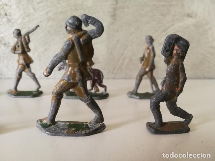 Juguetes Antiguos: LOTE ANTIGUOS SOLDADOS DE PLOMO ESPAÑOLES CAPELL EULOGIO CASANELLAS - Foto 3 - 131067528