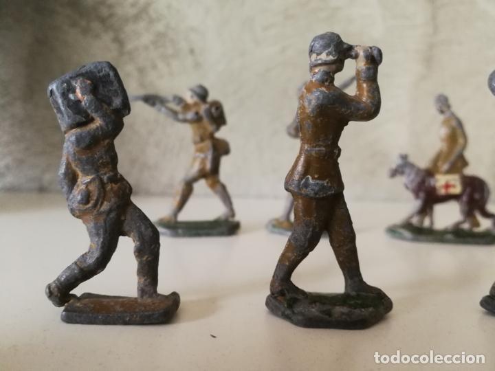 Juguetes Antiguos: LOTE ANTIGUOS SOLDADOS DE PLOMO ESPAÑOLES CAPELL EULOGIO CASANELLAS - Foto 4 - 131067528