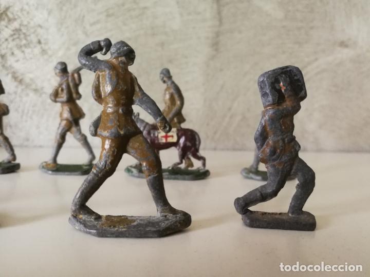 Juguetes Antiguos: LOTE ANTIGUOS SOLDADOS DE PLOMO ESPAÑOLES CAPELL EULOGIO CASANELLAS - Foto 5 - 131067528