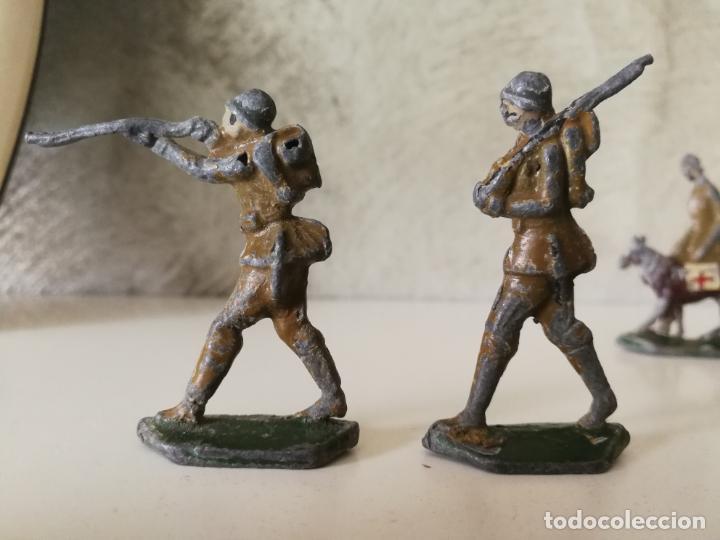 Juguetes Antiguos: LOTE ANTIGUOS SOLDADOS DE PLOMO ESPAÑOLES CAPELL EULOGIO CASANELLAS - Foto 6 - 131067528