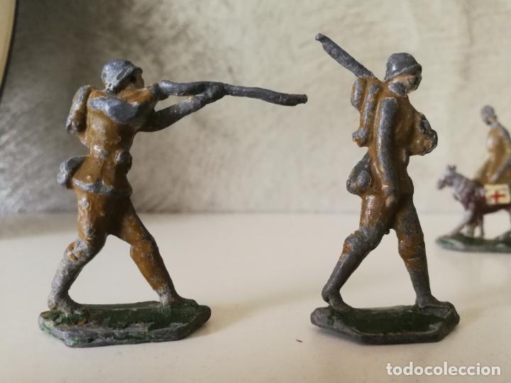 Juguetes Antiguos: LOTE ANTIGUOS SOLDADOS DE PLOMO ESPAÑOLES CAPELL EULOGIO CASANELLAS - Foto 7 - 131067528