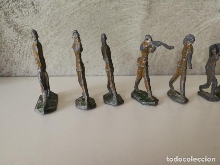 Juguetes Antiguos: LOTE ANTIGUOS SOLDADOS DE PLOMO ESPAÑOLES CAPELL EULOGIO CASANELLAS - Foto 11 - 131067528