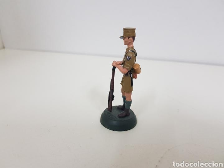 Juguetes Antiguos: Afrika Korps 1942 soldado de plomo Almirall - Foto 2 - 133224026
