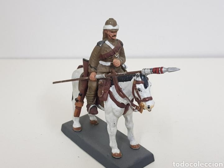Juguetes Antiguos: Soldado de plomo lancero del 21 regimiento United Kingdom 1898 DEA by Cassandra - Foto 2 - 133727437