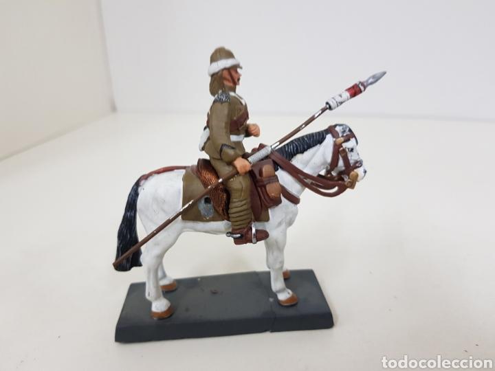 Juguetes Antiguos: Lancero del 21 regimiento United Kingdom 1898 soldado de plomo DEA by cassandra - Foto 2 - 133730974