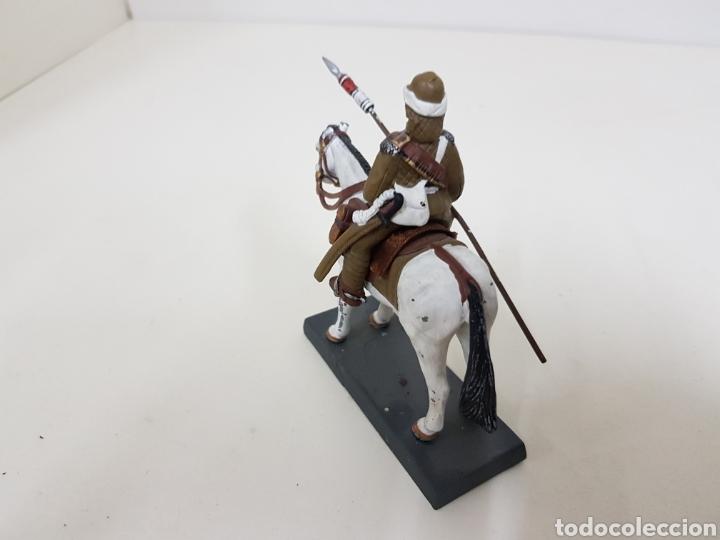 Juguetes Antiguos: Lancero del 21 regimiento United Kingdom 1898 soldado de plomo DEA by cassandra - Foto 4 - 133730974