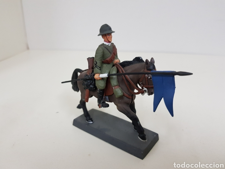 SOLDADO DE PLOMO CABALLERO LANCERO DI NOVARA ITALIA 1917 DEA BY CASSANDRA (Juguetes - Soldaditos - Soldaditos de plomo)