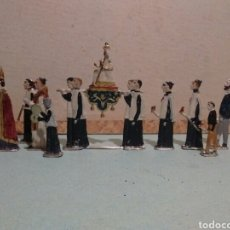 Juguetes Antiguos: SOLDADOS DE PLOMO PROCESION. ORTELLI. Lote 134073137