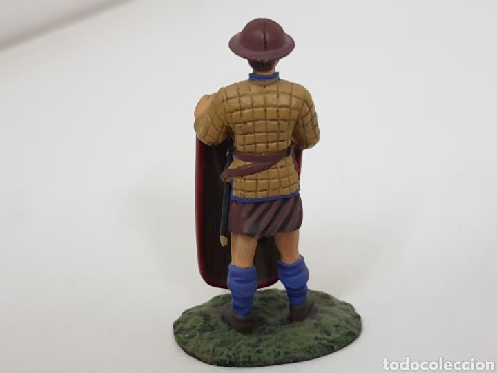Juguetes Antiguos: Pavesero borgoñon 1424 soldado de plomo con escudo - Foto 3 - 134293607