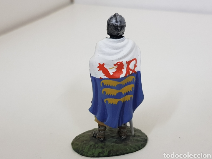 Juguetes Antiguos: Caballero francés 1213 soldado de plomo - Foto 2 - 134293789