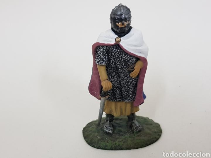 Juguetes Antiguos: Caballero francés 1213 soldado de plomo - Foto 3 - 134293789