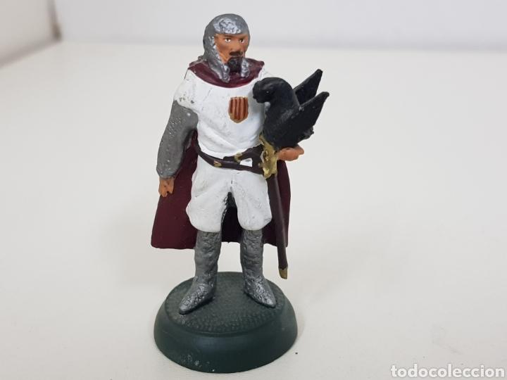 Juguetes Antiguos: Jaime I el conquistador año 1513 soldado de plomo Almirall - Foto 2 - 134293994