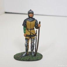 Arquero Franco siglo 15 soldado de plomo
