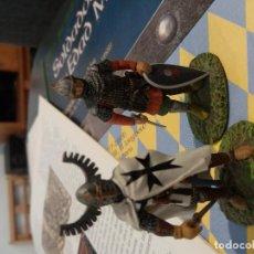 Juguetes Antiguos: COLECCIÓN COMPLETA DE SOLDADOS DE PLOMO DE LA EDAD MEDIA. Lote 137112802