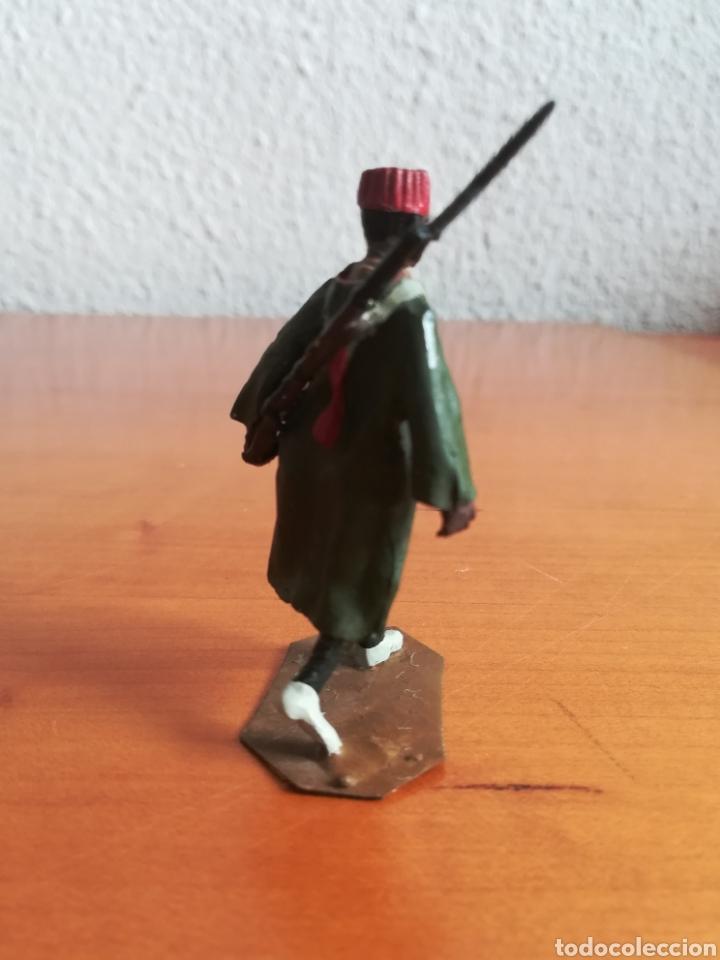 Juguetes Antiguos: Antiguo soldadito plomo Tropas Regulares Marruecos Indígenas Guerra Civil Española Tabor Miniatura - Foto 4 - 137564114